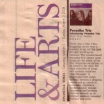 Album review, Financial Times 2008