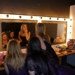Getting ready for the gig - Antwerp 2011
