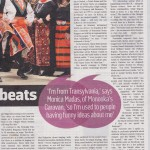 """Bloc-rocking beats"" The Sunday Times, 26 Jan 2014"